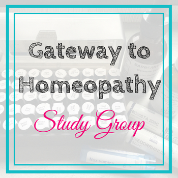 Gateway to Homeopathy Study Group