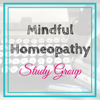 Mindful Homeopathy Study Group