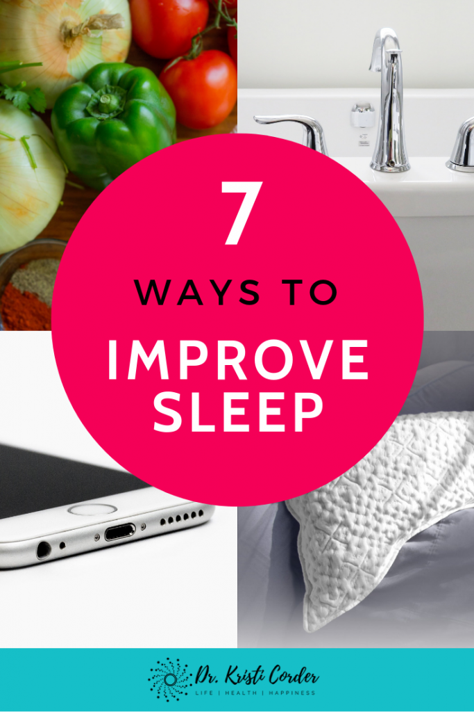 ways to improve sleep pin 3