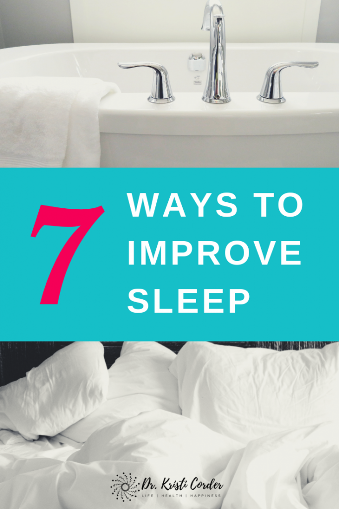 ways to improve sleep pin 4