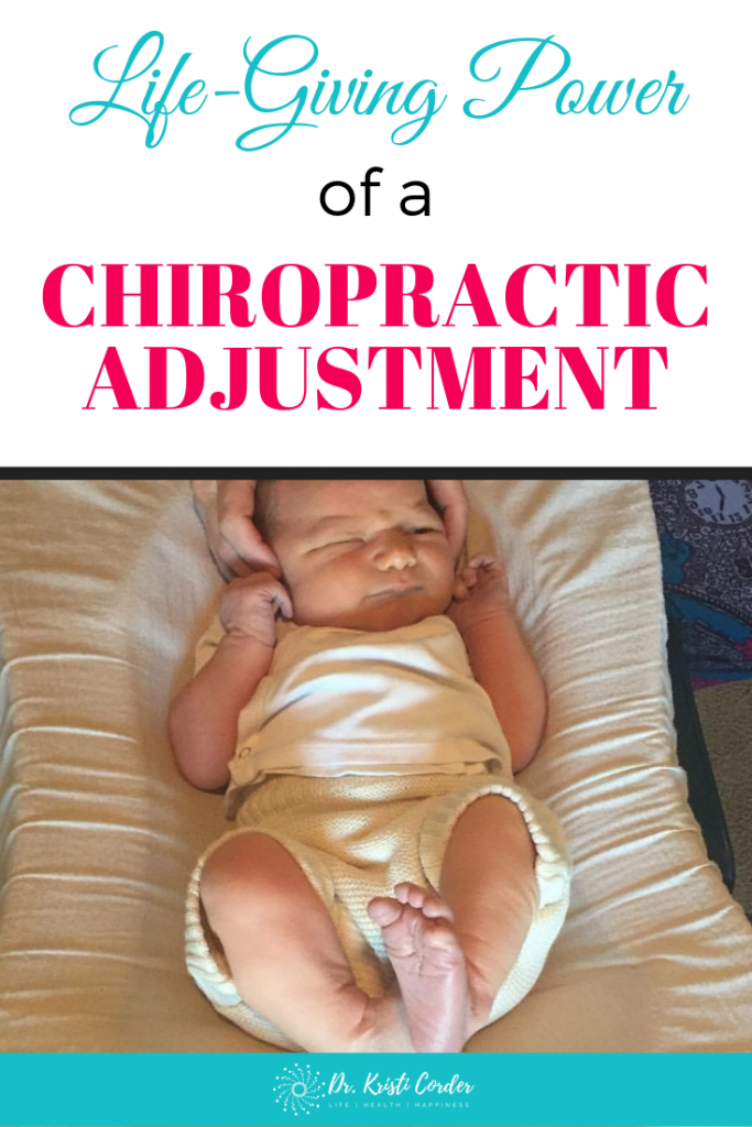 chiropractic saved my son pin image