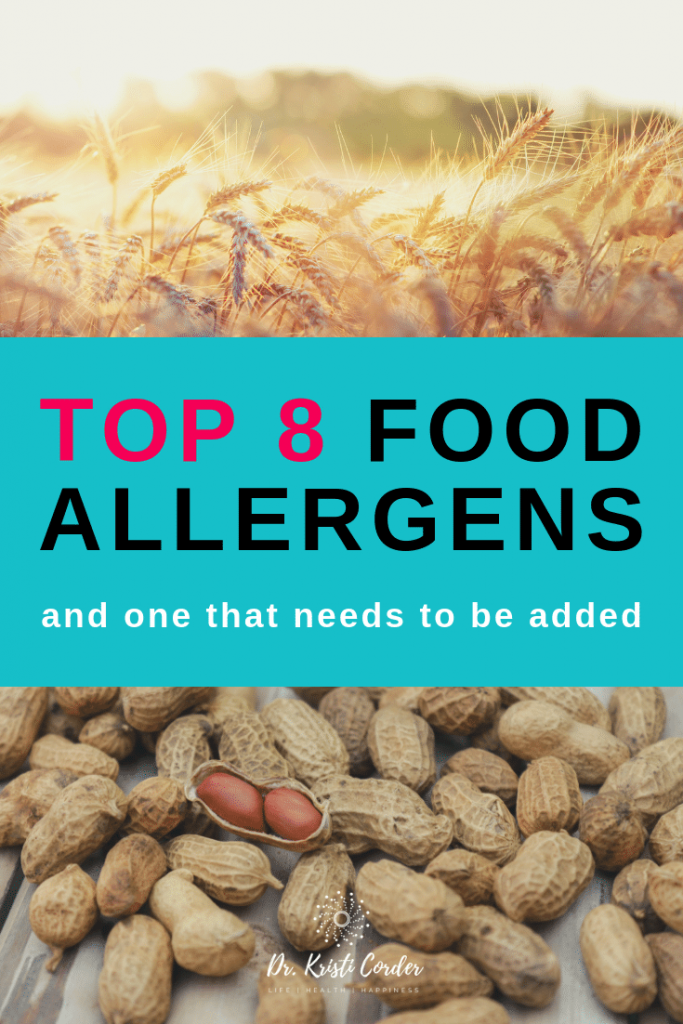Top 8 Food Allergens pin image