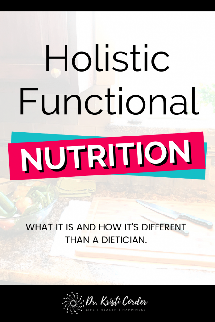 Holistic Functional Nutrition pin image