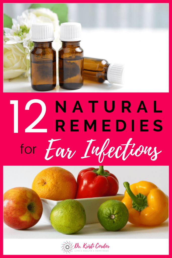 12 natural remedies for ear infections pin image