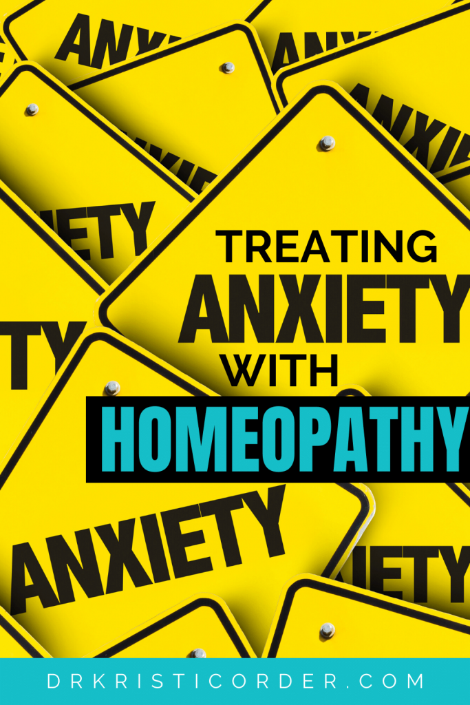 Homeopathy for Anxiety pin image