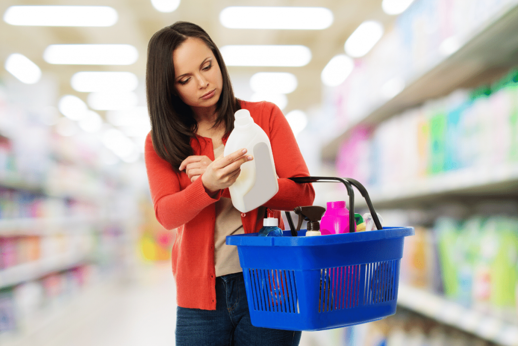 Healthy grocery shopping tip - read labels