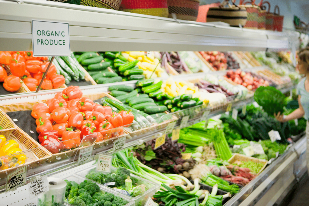 Healthy grocery shopping tip - shop the perimeter