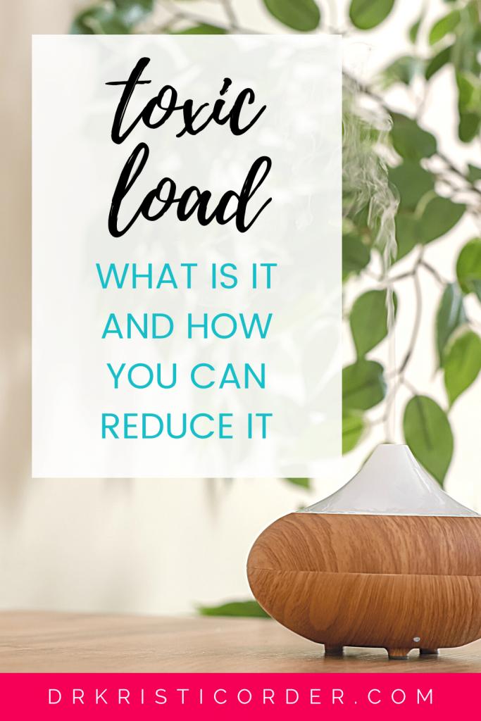 Reduce Toxic Load pin image