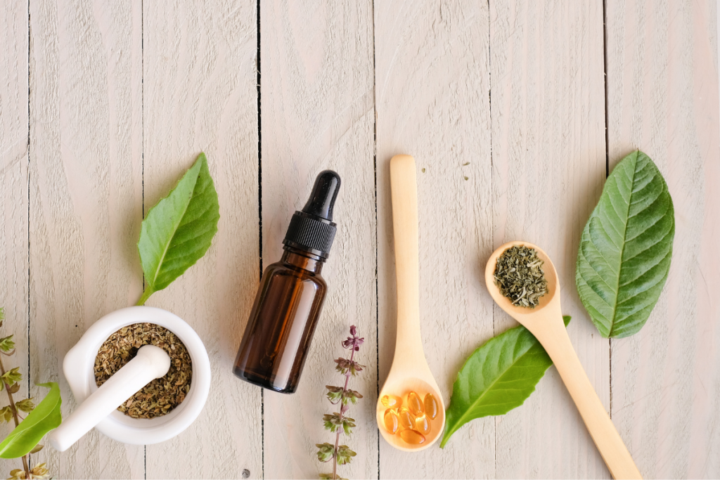 Supplements and herbs for neck pain relief